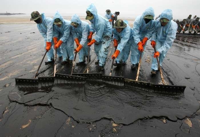petroleo polui