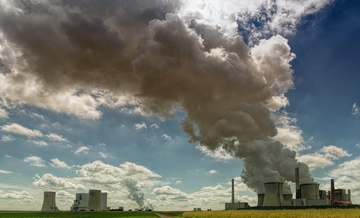 Carvão Poluente